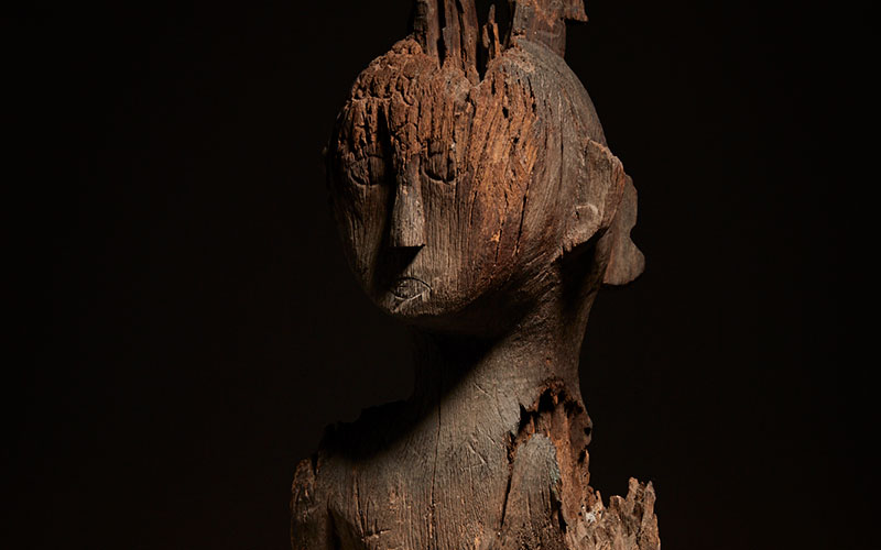 Ancestral Consulting Figure, Mid-late 19th Century, Hand-carved wood